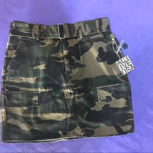 Camouflage Skirt from Live Fabulously